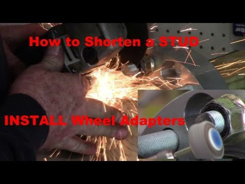 Putting WHEEL ADAPTERS on a Class B