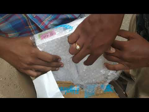 Unboxing of  iPad