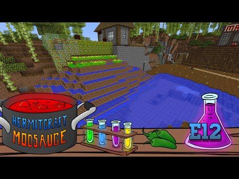 HermitCraft ModSauce: Ep12 - Rice Paddies!