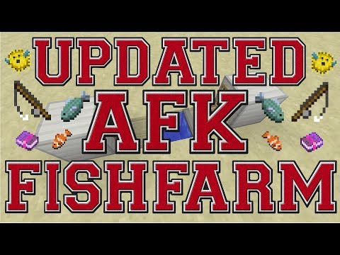 UPDATED AFK FISH FARM! TU55! HOW TO BUILD! MINECRAFT PS3-PS4-XBOX 360-XBOX ONE-PC!