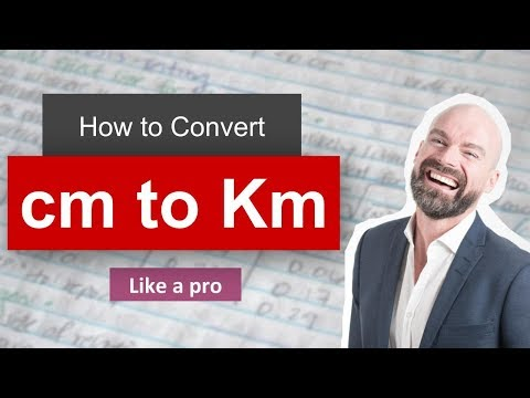 ✅ Convert cm to Km ( centimeter to kilometer) with Example