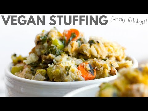 Vegan Stuffing for the holidays!