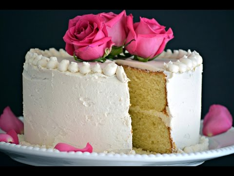 Basic Vanilla Cake Recipe | How To Make a Homemade Vanilla Cake | SyS