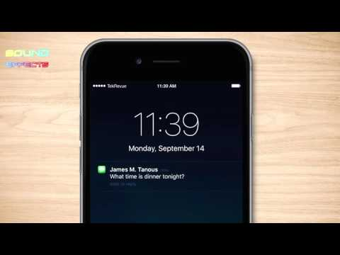 Iphone Text Message Sound Effect #89