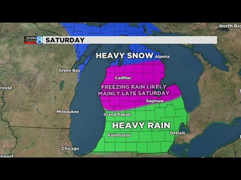 Messy weather this weekend