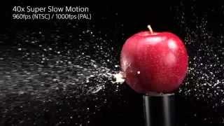 Sony RX100 IV & RX10 II Super Slow Mo Video