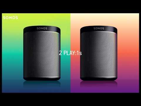 Sonos Play:1 Starter Bundle