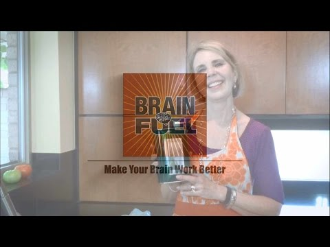 OLIVE OIL IS GOOD FOR THE BRAIN: A Video Tip by Brain Fuel Cookbook
