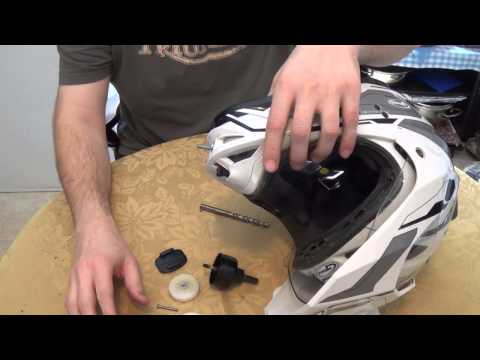 GoPro Dirtbike Helmet Front Mount How to!