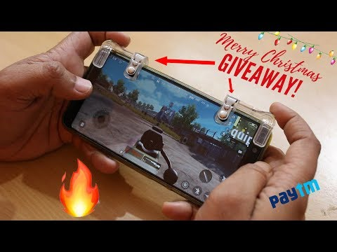 Merry Christmas Giveaway | PUBG Trigger Button Unboxing and Giveaway | Paytm Cash Giveaway |