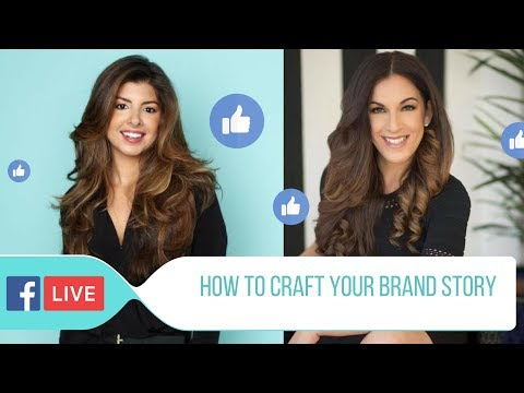 Facebook LIVE with Michelle Dempsey: How To Craft Your Brand Story and Be Authentic