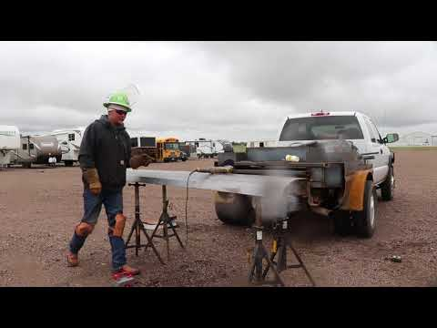 How to Build a Welding Bed in Rain