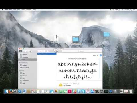 How To Install A New Font On Mac With Font Book