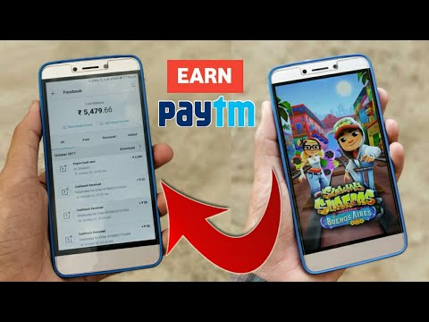 Earn Free ₹10000 Paytm cash By Playing Games 2018