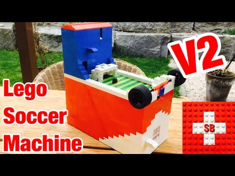 Lego Soccer Machine V2