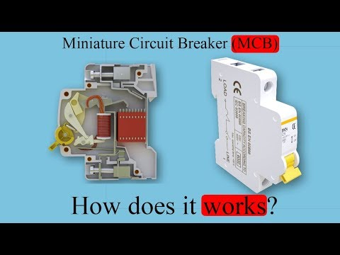 Miniature Circuit Breaker, (MCB), How does it work?