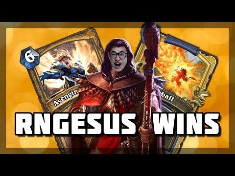 Hearthstone - RNGesus Wins