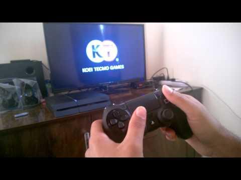 Gameplay of PS4 from Amazon india on basic LED