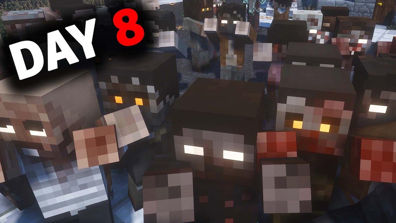 Surviving The Hardcore Minecraft Zombie Apocalypse