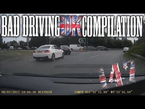 Bad Driving UK Compilation 147