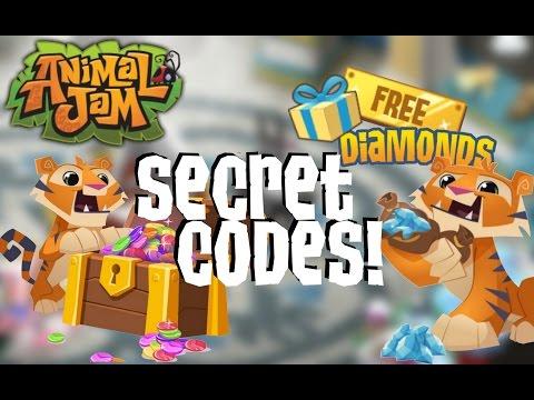 ANIMAL JAM SECRET CODES! (FREE DIAMONDS & GEMS!)