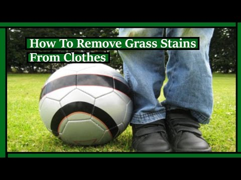 Vanquish Hard Sticking Grass Stains | How To Remove Grass Stains
