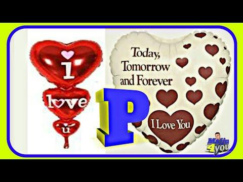 a love p letter whatsapp status video download