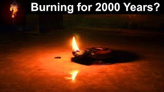 """""""Ever Burning Lamps"""" Found In Ancient Tomb?"""