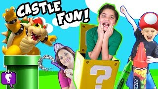 Biggest Bowser Adventure with Surprise Toys by HobbyKids