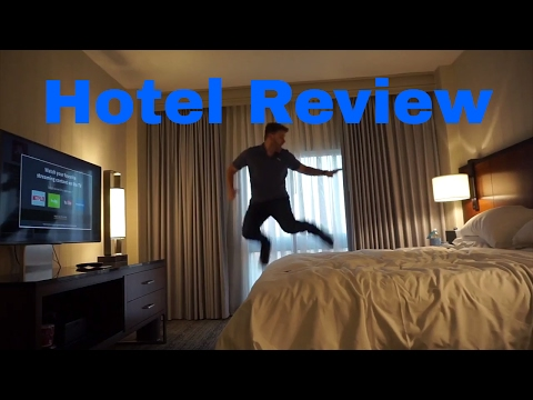 Houston Airport Marriott Bush International Hotel Review - KaZakly Vlog