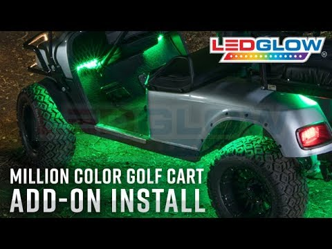 LEDGlow | How To Install Million Color Golf Cart Add-On Lights