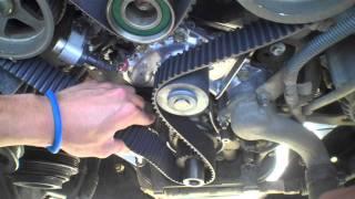 34l V6 5vz Fe Timing Belt And Water Pump Ep 4