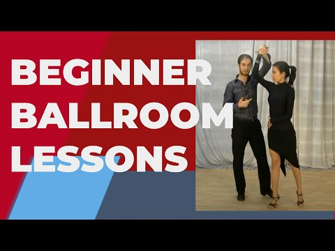 Ballroom dancing lessons for beginners - Hold and Connecting to your partner