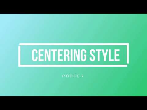 How to center elements and text with CSS vertically