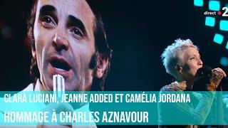 Hommage à Charles Aznavour par Clara Luciani, Jeanne Added et Camélia Jordana / #Victoires2019