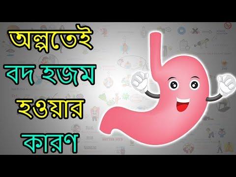৫টি উপায় হজম শক্তি বাড়ানোর - BANGLA Health Tips Motivational Video
