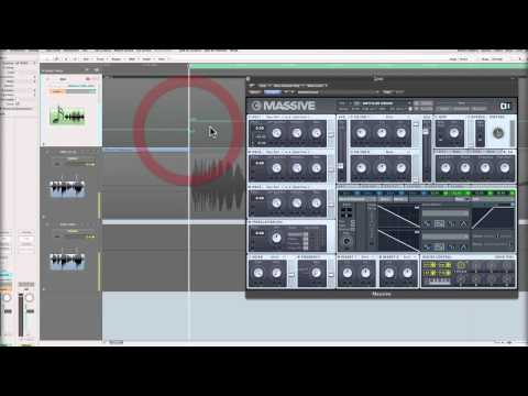 Massive Synth Tips - Saw Wave RIser Transition FX - 2 of 2 With Marc Adamo