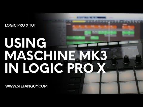 Using Maschine MK3 In Logic Pro X (Best Workflow) - UPDATED
