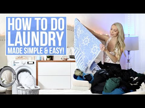 HOW TO DO LAUNDRY! Tips & Tricks You NEED to Know