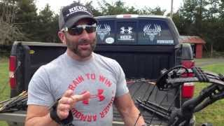 Cam with Hoyt @ Long Range & Trick Shooting