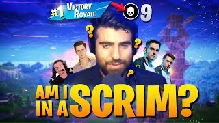 I Accidentally Joined A Scrim And Dominated (Fortnite Battle Royale)