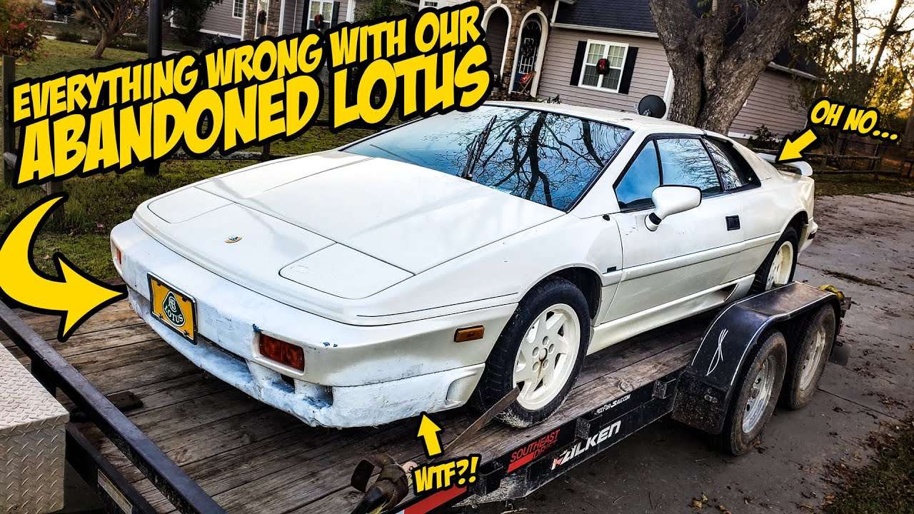 Everything Wrong With Our ABANDONED Lotus Supercar (Worse Than We Thought)