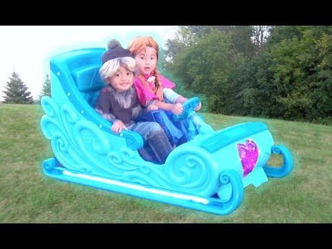 Disney Frozen Sleigh Ride-On Power Wheel
