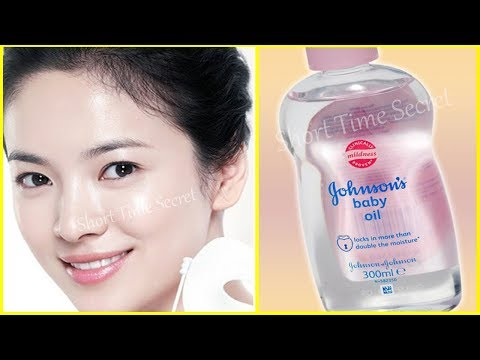 Baby Oil & Rose Water That Will Change Your Life Forever | Amazing Baby oil Beauty Benefits