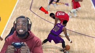 I BROKE JAMES HARDEN IN HALF! Lakers vs Rockets Game 3 Playoffs NBA 2K19 Ep 63