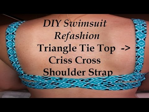 DIY Swimsuit Refashion