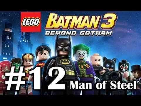 LEGO BATMAN 3: Beyond Gotham PART 12 - Man of Steel - Superman Jor-El General Zod PC Gameplay
