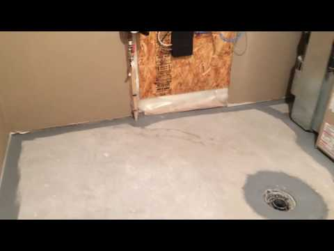 Basement Concrete Floor Painting