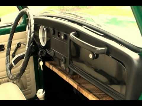 Classic 1969 VW Beetle Bug Sedan Restored Delta Green C. Vallone