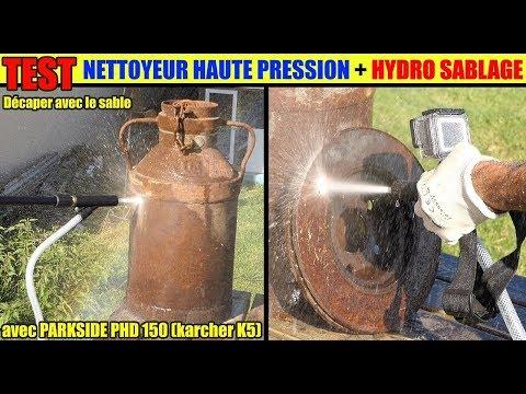 Decaper Rouille Hydro Sablage Karcher Nettoyeur Haute